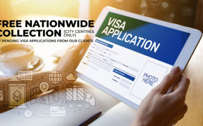 Free Nationwide Contactless Collection of Visa Applications